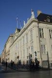 TERROR ATTACKED_FRENC MEBASSY DE PARÍS EN COPENHAGUE Imagenes de archivo
