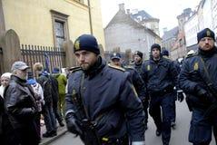TERROR IN COPENHAGEN_SYNAGOGUE Stock Images