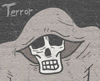 Terror illustration Royalty Free Stock Images