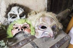Terror masks Stock Photo