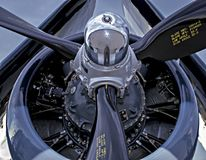 Terror Of The Pacific / Vought F4U Cosair Royalty Free Stock Photography