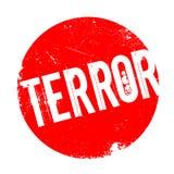 Terror rubber stamp Stock Photos