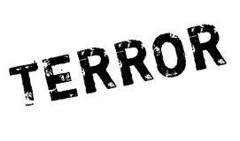Terror rubber stamp Royalty Free Stock Photo