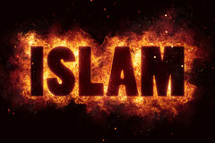 Is terror terrorism fire burn flame text is explode Stock Photography