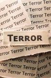Terrore Immagini Stock
