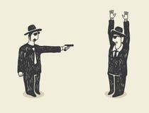 Terrore illustrazione vettoriale