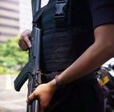 Terrore della via di Thamrin a Jakarta Immagine Stock