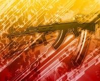 Terrorism Abstract concept digital illustration Stock Image