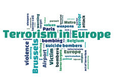 Terrorism in Europe Royalty Free Stock Images