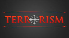 Terrorism - hairline cross Royalty Free Stock Photography