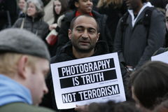 terrorism section44 Royaltyfri Foto