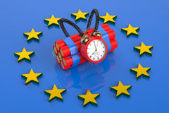 Terrorism threat in European Union Royalty Free Stock Image