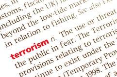 Terrorisme Image stock