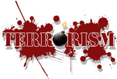 terrorisme Photographie stock