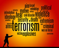 terrorisme illustration stock