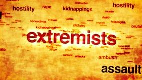 terrorismo stock de ilustración