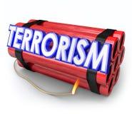 Terrorismus-Bomben-Dynamit-Explosions-Angriffs-Gefahr Stockfoto