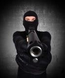 terrorist lizenzfreie stockfotos