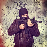 terrorist lizenzfreies stockbild