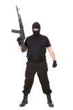 Terrorist stockbild