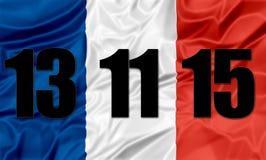 Terrorist attack France Stock Photography