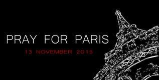 Terrorist attack in Paris Stock Photography