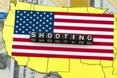 The terrorist attack Stock Photography