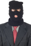 Terrorist Business man Royalty Free Stock Photography