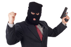 Terrorist business man Stock Photography