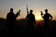 Terrorist eller terrorism Royaltyfria Bilder