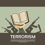 Terrorist Group Hands Holding Guns Terrorism Royalty Free Stock Image