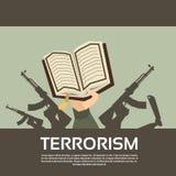 Terrorist Group Hands Holding schießt Terrorismus Lizenzfreies Stockbild