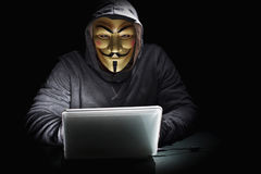 Terrorist are hacked Stock Photo