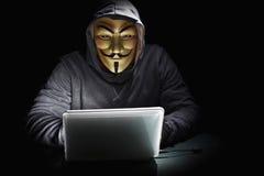 Terrorist are hacked Stock Photo