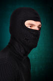 Terrorist in mask royalty free stock photos
