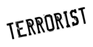 Terrorist rubber stamp Stock Image