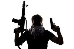 Terrorist or Sepcial Ops Soldier Royalty Free Stock Photo