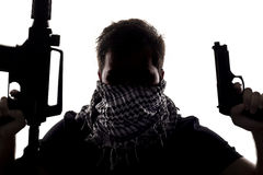 Terrorist or Sepcial Ops Soldier Stock Photos