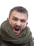 Terrorista enojado Fotografía de archivo libre de regalías