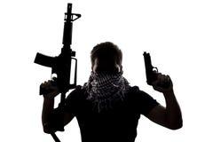 Terrorista o soldado de Sepcial Ops foto de archivo libre de regalías