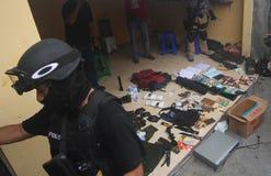Terroristbeweis Lizenzfreie Stockbilder