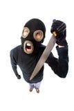 Terroriste agressif photos stock