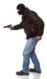 Terroriste dans l'action photos stock