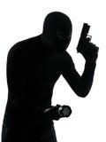 Terroriste de criminel de voleur images stock