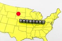 Terroristen i South Dakota fotografering för bildbyråer