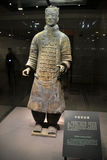 Terrracota warrior. The Terracotta Army is a collection of terracotta sculptures depicting the armies of Qin Shi Huang, the first Emperor of China Stock Images