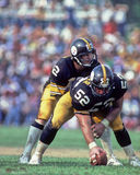 Terry Bradshaw and Mike Webster Royalty Free Stock Photo