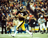 Terry Bradshaw Pittsburgh Steelers royaltyfria bilder