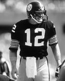 Terry Bradshaw. Pittsburgh Steelers QB Terry Bradshaw, #12.  (Image taken from the B&W negative Stock Images
