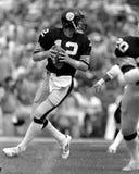 Terry Bradshaw. Pittsburgh Steelers QB Terry Bradshaw, #12.  (Image taken from the B&W negative Stock Image